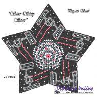 Tutorial Starship 3D Peyote Star + Basic Tutorial Little 3D Peyote Star (download link per e-mail)