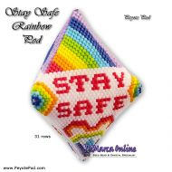 Tutorial Stay Safe Rainbow - 3D Peyote Pod + Basic Tutorial (download link per e-mail)