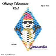 Tutorial Sunny Snowman 3D Peyote Pod + Basic Tutorial Little 3D Peyote Pod (download link per e-mail)