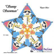 Tutorial Sunny Snowman 3D Peyote Star + Basic Tutorial Little 3D Peyote Star (download link per e-mail)