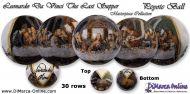 Tutorial 30 rows - Leonardo Da Vinci The Last Supper Peyote Ball incl. Basic Tutorial (download link per e-mail)