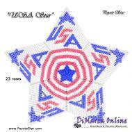 Tutorial USA Star 3D Peyote Star + Basic Tutorial Little 3D Peyote Star (download link per e-mail)
