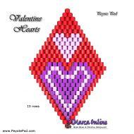 Tutorial Valentine Hearts 3D Peyote Pod + Basic Tutorial Little 3D Peyote Pod (download link per e-mail)