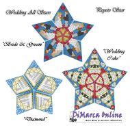 Tutorial Wedding/Marriage All Stars 3D Peyote Star + Basic Tutorial Little 3D Peyote Star (download link per e-mail)