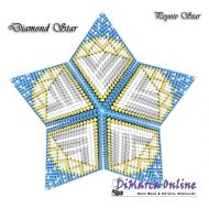 Tutorial Diamond 3D Peyote Star + Basic Tutorial Little 3D Peyote Star (download link per e-mail)