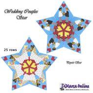 Tutorial Wedding Couples 2 x - 3D Peyote Star + Basic Tutorial Little 3D Peyote Star (download link per e-mail)