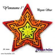 Tutorial Yawanawa 1 - 3D Peyote Star + Basic Tutorial Little 3D Peyote Star (download link per e-mail)