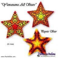 Tutorial Yawanawa All Stars - 3D Peyote Star + Basic Tutorial Little 3D Peyote Star (download link per e-mail)