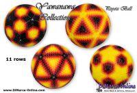 Tutorial 11 rows - Yawanawa Collection 4 x Peyote Ball incl. Basic Tutorial (download link per e-mail)