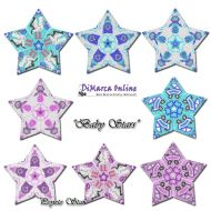 Tutorial Baby All Stars (Pink & Blue) 3D Peyote Star + Basic Tutorial Little 3D Peyote Star (download link per e-mail)