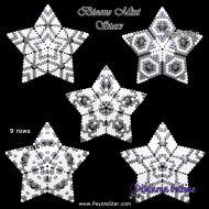 Tutorial Bicone Mini Stars x 5 3D Peyote Star + Basic Tutorial Little 3D Peyote Star (download link per e-mail)