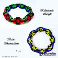 Basic Tutorial Kaleidocycle Bangle (download link per e-mail)
