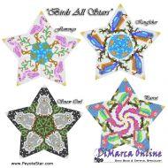 Tutorial Birds All Stars 3D Peyote Star + Basic Tutorial Little 3D Peyote Star (download link per e-mail)