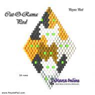Tutorial Cat-O-Rama 3D Peyote Pod + Basic Tutorial Little 3D Peyote Pod (download link per e-mail)