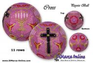 Tutorial 11 rows - Cross Peyote Ball incl. Basic Tutorial (download link per e-mail)