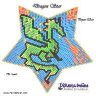 Tutorial Dragon 3D Peyote Star + Basic Tutorial Little 3D Peyote Star (download link per e-mail)