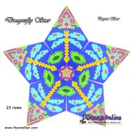 Tutorial Dragonfly 3D Peyote Star + Basic Tutorial Little 3D Peyote Star (download link per e-mail)