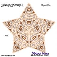 Tutorial Fancy Fantasy 2 - 3D Peyote Star + Basic Tutorial Little 3D Peyote Star (download link per e-mail)