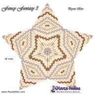 Tutorial Fancy Fantasy 3 - 3D Peyote Star + Basic Tutorial Little 3D Peyote Star (download link per e-mail)