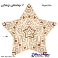 Tutorial Fancy Fantasy 4 - 3D Peyote Star + Basic Tutorial Little 3D Peyote Star (download link per e-mail)