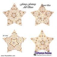 Tutorial Fancy Fantasy All Stars - 3D Peyote Star + Basic Tutorial Little 3D Peyote Star (download link per e-mail)