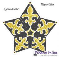 Tutorial Fleur-de-Lis 3D Peyote Star + Basic Tutorial Little 3D Peyote Star (download link per e-mail)