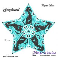 Tutorial Greyhound 3D Peyote Star + Basic Tutorial Little 3D Peyote Star (download link per e-mail)