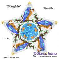Tutorial Kingfisher 3D Peyote Star + Basic Tutorial Little 3D Peyote Star (download link per e-mail)