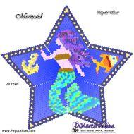 Tutorial Mermaid 3D Peyote Star + Basic Tutorial Little 3D Peyote Star (download link per e-mail)