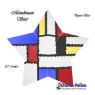 Tutorial Mondriaan Inspired 3D Peyote Star + Basic Tutorial Little 3D Peyote Star (download link per e-mail)
