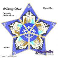 Tutorial Nativity 3D Peyote Star + Basic Tutorial Little 3D Peyote Star (download link per e-mail)