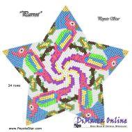 Tutorial Parrot 3D Peyote Star + Basic Tutorial Little 3D Peyote Star (download link per e-mail)
