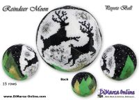 Tutorial 15 rows - Reindeer Moon Peyote Ball incl. Basic Tutorial (download link per e-mail)