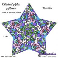 Tutorial Stained Glass Flowers 3D Peyote Star + Basic Tutorial Little 3D Peyote Star (download link per e-mail)