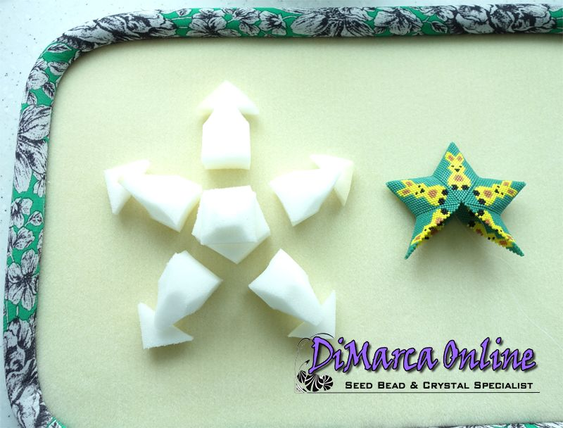 3D Peyote Star Accessories