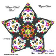 Tutorial Sugar Skull 3D Peyote Star + Basic Tutorial Little 3D Peyote Star (download link per e-mail)