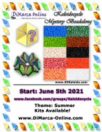 * Kaleidocycle Beadalong Kit * - June 2021 - Summer Kaleidocycle