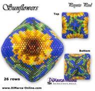 Tutorial Sunflowers 3D Peyote Pod + Basic Tutorial Little 3D Peyote Pod (download link per e-mail) - 26 rows