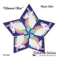 Tutorial Unicorn 3D Peyote Star + Basic Tutorial Little 3D Peyote Star (download link per e-mail)