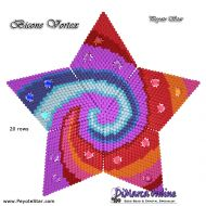 Tutorial Bicone Vortex 3D Peyote Star + Basic Tutorial Little 3D Peyote Star (download link per e-mail)