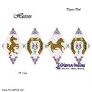 Tutorial Horses 3D Peyote Pod + Basic Tutorial Little 3D Peyote Pod (download link per e-mail)