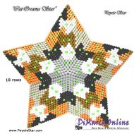 Tutorial Cat-O-rama 3D Peyote Star + Basic Tutorial Little 3D Peyote Star (download link per e-mail)