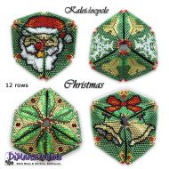 Tutorial Christmas Kaleidocycle incl. Basic Tutorial (download link per e-mail)