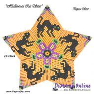 Tutorial Halloween Cat 3D Peyote Star + Basic Tutorial Little 3D Peyote Star (download link per e-mail)