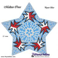 Tutorial Maltese Cross - 3D Peyote Star + Basic Tutorial Little 3D Peyote Star (download link per e-mail)