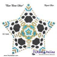 Tutorial Paw Print 3D Peyote Star + Basic Tutorial Little 3D Peyote Star (download link per e-mail)