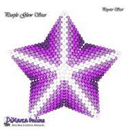 Tutorial Purple Glow 3D Peyote Star + Basic Tutorial Little 3D Peyote Star (download link per e-mail)