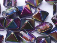 PYR-00030/95500 Magic Lilac Pyramid Bead Studs - 20 x