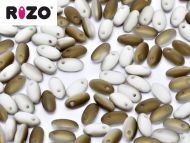 R-03000/22671 Chalk Valentinite Matt Lumi Rizo Beads * BUY 1 - GET 1 FREE *