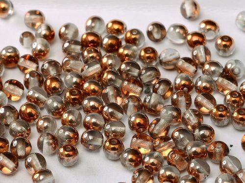 RB3-00030/27137 Crystal Sunset Round Beads 3 mm - 150 x
